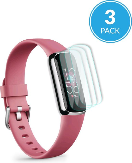 YONO Screenprotector Set geschikt voor Fitbit Luxe - 3 Stuks