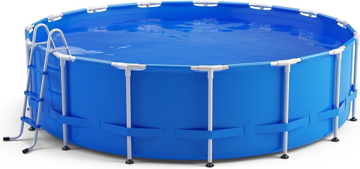Metalen frame zwembad Swing - rond opzet zwembad   4,57 x 1,22 m
