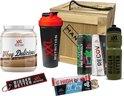Man-Box Sport Cadeaubox - Mannen Cadeau's - Uniek en Origineel -  Cadeau voor Man - Houten Box Inclusief breekijzer - Powered by XXL Nutrition - GRATIS KAARTJE MEESTUREN