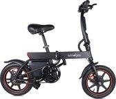EasyGO Windgoo B20 - Elektrische fiets - met trapondersteuning - Zwart - 25 km per uur