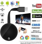 TV Stick Wireless-Compatibel Wifi Beeldscherm Tv Dongle 1080P Voor Google Chromecast 3 2 Ontvanger voor Miracast Airplay