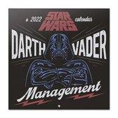 Star Wars kalender 2022-klassiek-Darth Vader-Yoda-formaat 30x30cm