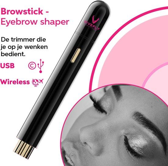 Vivefly Healthcare Eyebrow trimmer - Wenkbrauw - Epileren - Precisietrimmer -...