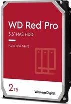 "Western Digital WD Red Pro - Interne Harde Schijf 3.5"" - NAS - 2 TB"