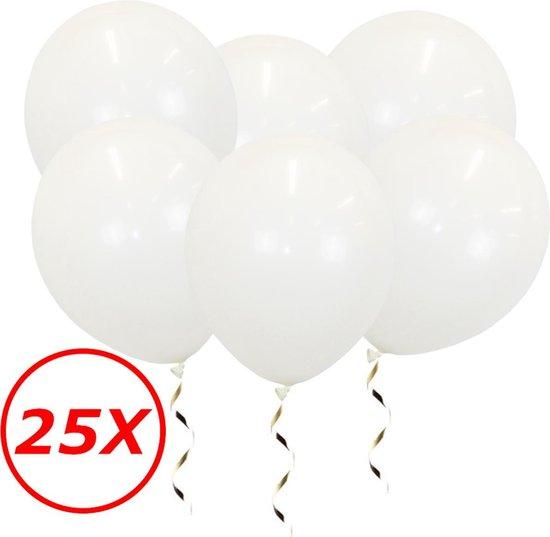 Witte Ballonnen Verjaardag Versiering Witte Helium Ballonnen Bruiloft Feest Versiering EK WK Koningsdag Wit 25 Stuks