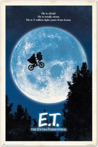 E.T. the Extra-Terrestrial poster-Spielberg-film-Hollywood-61x91.5cm