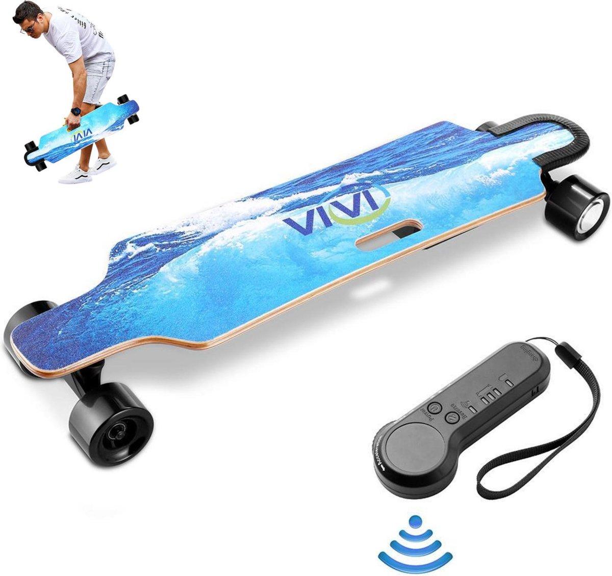Elektrisch Longboard - Elektrisch Skateboard - Inclusief Controller - 30 km/u - 15km Bereik -