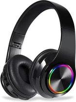 Magix Sound - Draadloze Koptelefoon Voor Kinderen - Bluetooth 5.0 - Over Ear - Active Noise Canceling - Zwart - LED verlichting