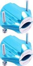 Niceey Waterontharder Magneet – Waterleiding ontkalker – Waterfilter Kraan – Waterzuiveringssysteem – 2 Stuks – Lichtblauw