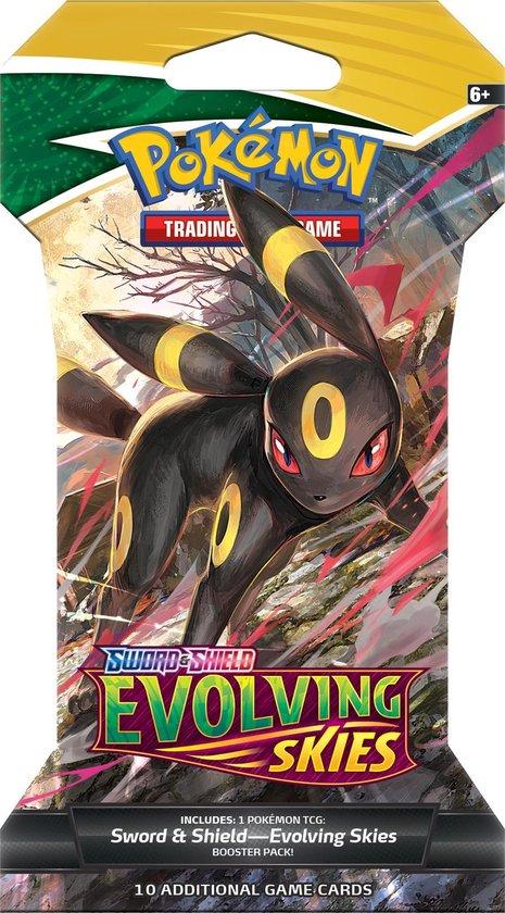 Afbeelding van Pokémon Sword & Shield Evolving Skies Sleeved Booster - Pokémon Kaarten