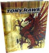 Tony Hawk geel/rood - Polypropyleen Ringband met 4 Ringen Inclusief interieur