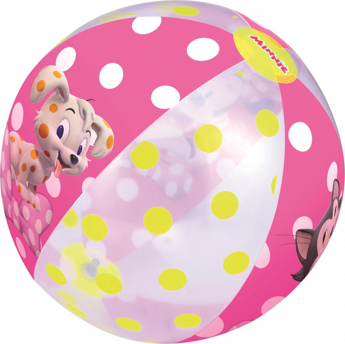 Bestway Strandbal Minnie Mouse 51 Cm Paars