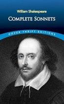 Boek cover Sonnets van William Shakespeare (Paperback)