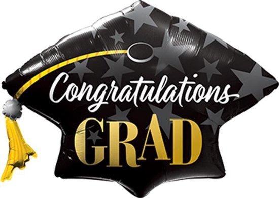 Folieballon - Congratulations Grad
