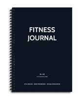 Fitly - Fitness Journal - Workout Planner - Fitness Dagboek - Donker Blauw