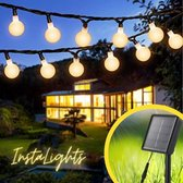 Instalights - Tuinverlichting op Zonne-Energie - 10 meter - 100 Lampjes - Lichtsnoer - Lampjes Slinger