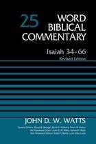 Boek cover Isaiah 34-66, Volume 25 van John D. W. Watts