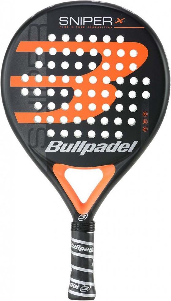 Bullpadel Sniper X-Serie – Oranje (Round) – 2022 padelracket