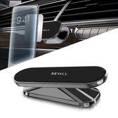REVALL Magneet Telefoonhouder Auto - Universeel - Magnetisch - Sterke Lijm - GSM - Space Grey