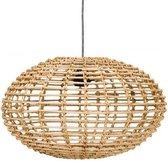 Kidsdepot Pumpkin Hanglamp - Rotan - Natural - E27 - Ø 45cm