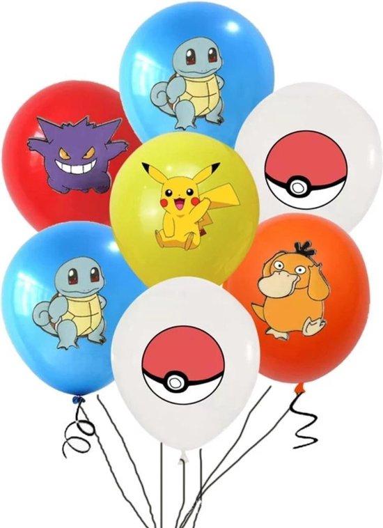 Pokemon ballonnen, Pikachu 20 stuks. Pokémon ballon , verjaardag,Latex ballon