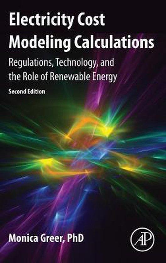 Boek cover Electricity Cost Modeling Calculations van Monica Greer (Hardcover)