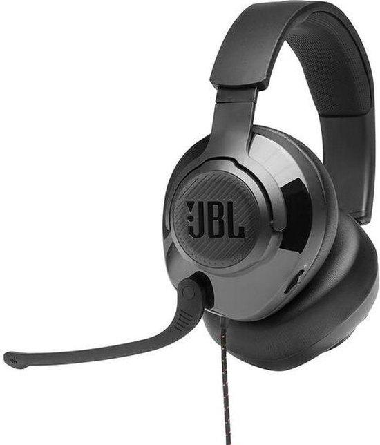 JBL Quantum 100 - Bedrade over-ear Gamekoptelefoon - Zwart