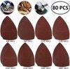 Schuurpapier voor schuurmachine – 80 Vellen Schuurmachine papier - 100x150mm