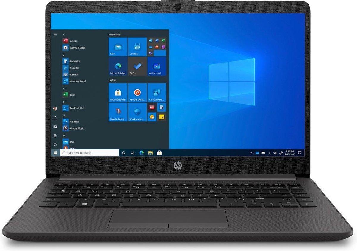 HP 240 G8 - Laptop Notebook - 14 inch - Core i3 - 8GB 256GB - Windows 10 Pro - Grijs