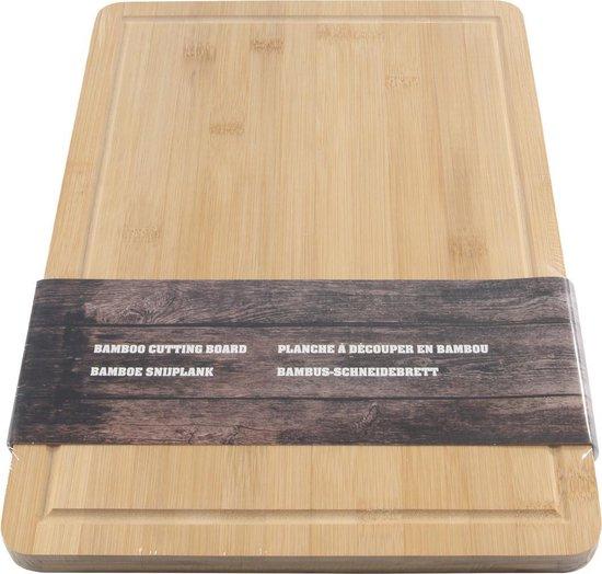 Imperial Kitchen Snijplank bamboe - 25x35x1.8 geul