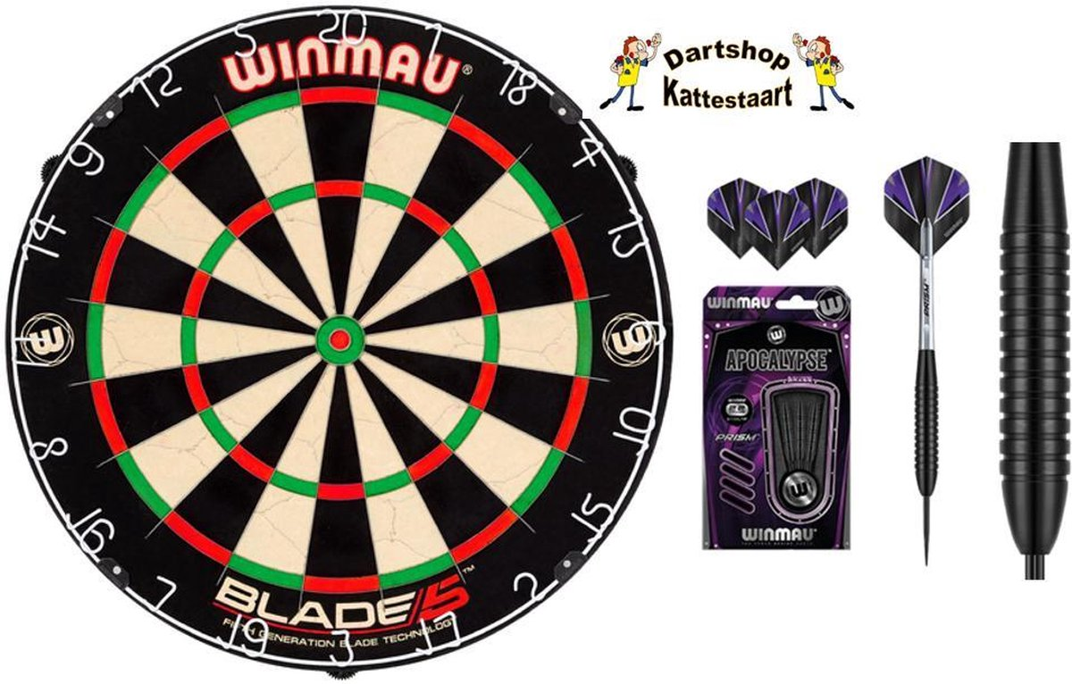 Winmau Blade dartbord Set Apocalypse