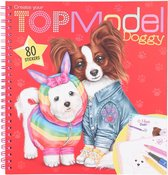 Create your TOPModel Doggy kleurboek
