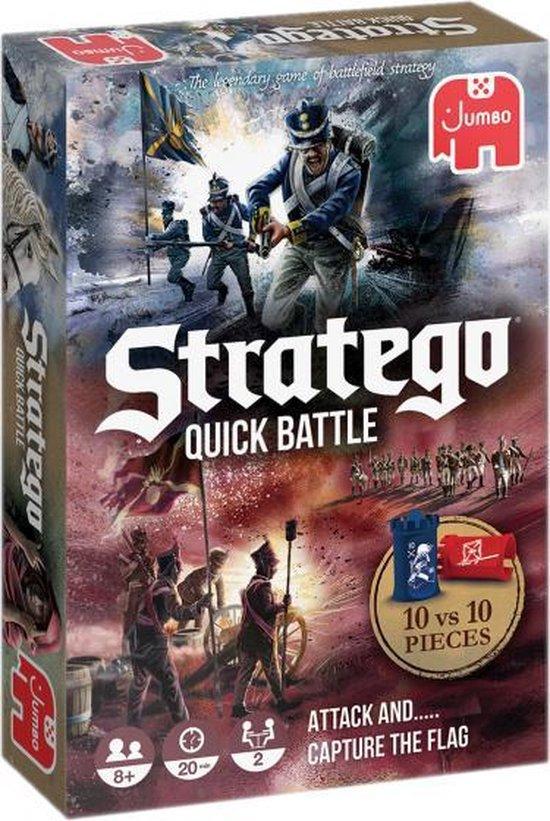 Afbeelding van het spel strategiespel Stratego Quick Battle