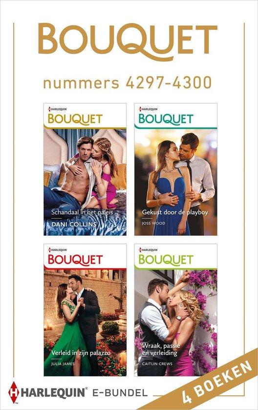 Boek cover Bouquet e-bundel nummers 4297 - 4300 van Dani Collins (Onbekend)
