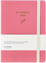 A-journal My Journal Agenda - 2022 - Roze