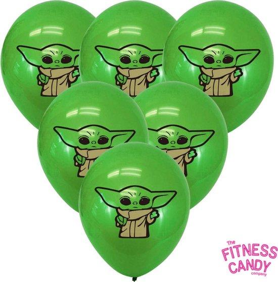 Baby Yoda Ballonnen - set van 6