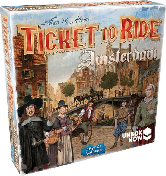 Ticket to Ride Amsterdam - Bordspel