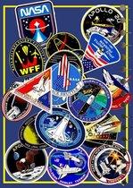 NASA #8   LOS COVERSETJE      ook om LOS te bestellen bij  de SchoolAgenda's  A5 van CitrusPers