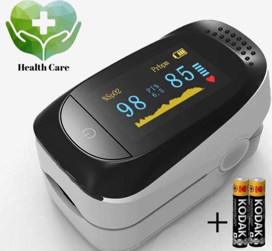Saturatie en Hartslagmeter - Oximeter - (Bloed) zuurstofmeter - Vingertop Pulse