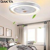 5. Dakta® Smart Plafond Ventilator | Afstandsbediening | Plafondventilator | Rust & Cool | Plafondventilator Met Verlichting | Afzonderlijk Bedienbaar | Ventilator | Zilver | 3.5 KG