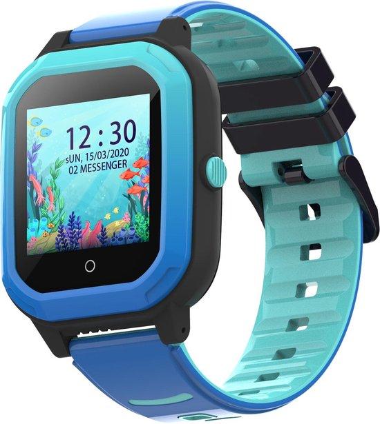 BRUVZ Smartwatch Kinderen – GPS Horloge Kind – GPS Tracker Kind –...