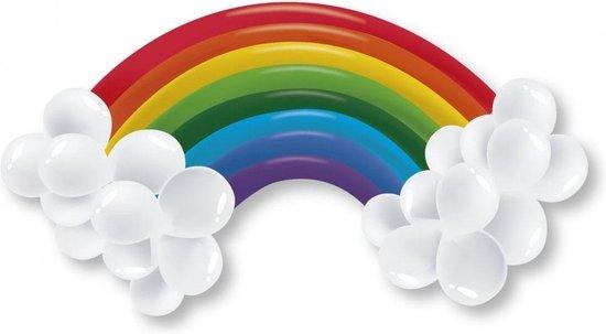 Regenboog ballonnen set - Maak je eigen regenboog!