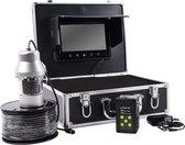 "Onderwater camera in koffer - 360 graden - 7"" LCD monitor - 1000tvl - 100 meter kabel - SD-kaart slot - uwc08d"