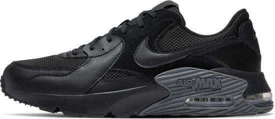 Nike Air Max Excee Heren Sneakers - Black/Black-Dark Grey - Maat 45.5