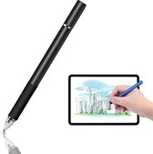 DrPhone - SX Pro V6 Stylus Pen Side Grip - Precision Disc Capacitief - o.a. voor Tablets / Telefoons  Apple iPhone / Samsung Galaxy Tab S4 / S4 10.5 / iPad 2018 / Pro 11  / Samsung Note 9 / Samsung Tab E 9.6 / Tab A 10.5  / M5  - Universeel - Zwart