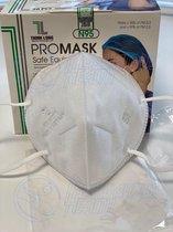 FFP2 ProMask - N95 gezichtsmasker (30 stuks)