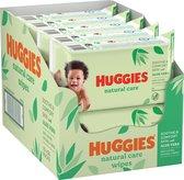 Huggies billendoekjes - Natural Care - 10 x 56 stuks -  560 doekjes