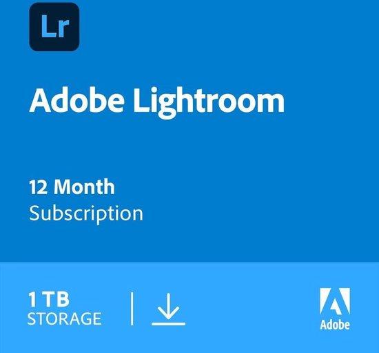 Adobe Photoshop Lightroom CC met 1TB - 1 Gebruiker - 1 Jaar - Windows / Mac