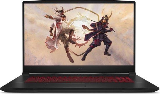 MSI Gaming GF76 11SC-017NL Katana - Gaming Laptop - 17.3 inch - 144 Hz