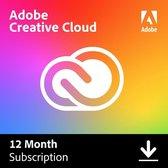 Adobe Creative Cloud Abonnement 2021 All Apps 12 Maanden - Multilanguage - Windows/MAC